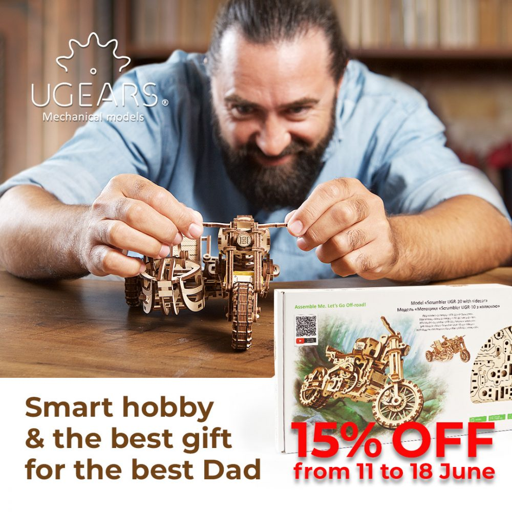 Family comes first! 3D puzzles as a gift for the head of your family - UGears USA 1