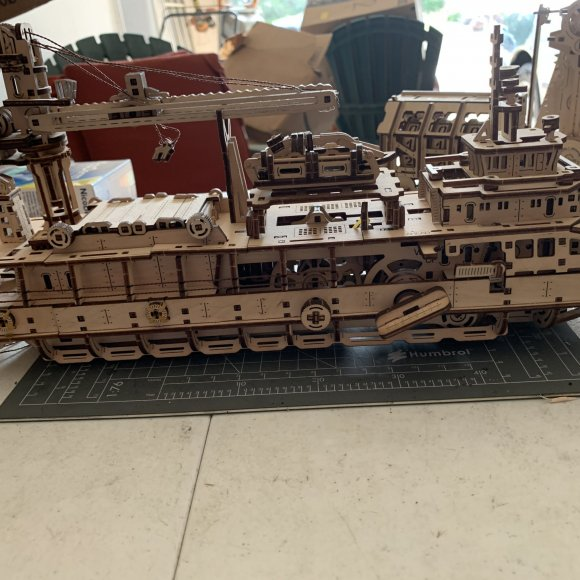 UGears Research Vessel review 113209