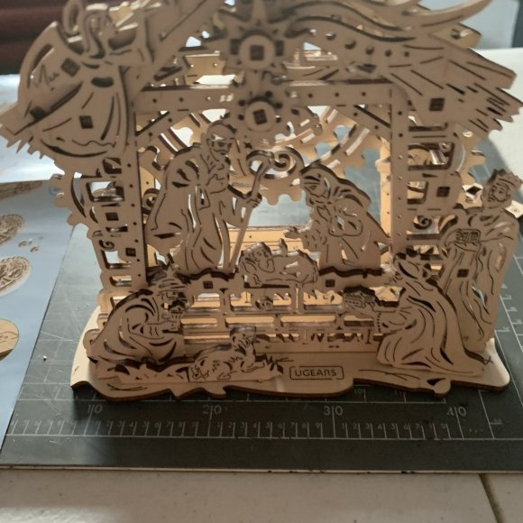 Ugears Nativity Scene review 117726