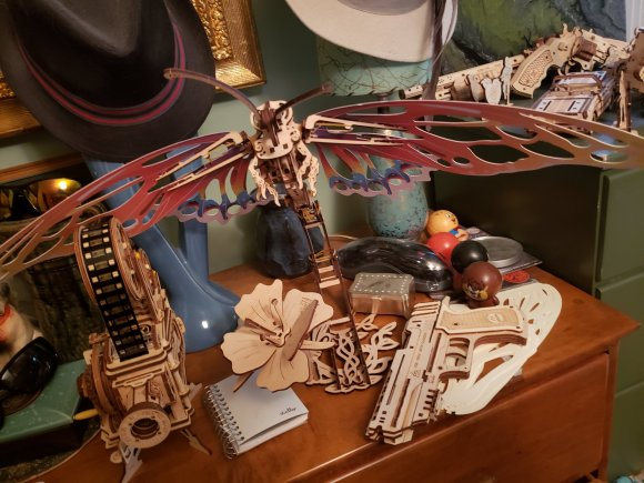 Ugears Butterfly review 131908