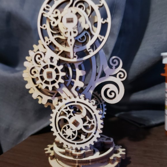 Ugears Steampunk Clock review 138168