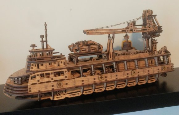 UGears Research Vessel review 141017