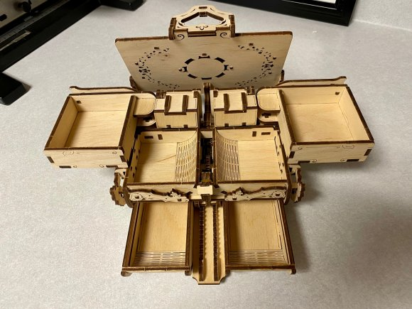 Ugears Antique Box review 142197