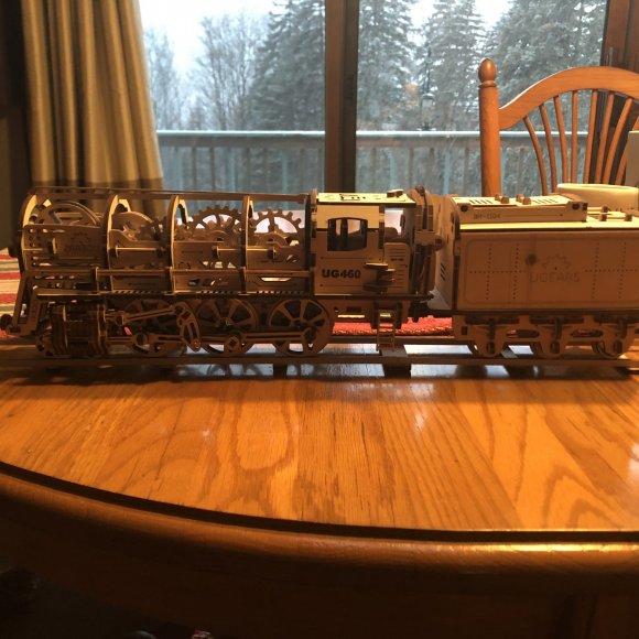 UGears Tram Line Model review 144712