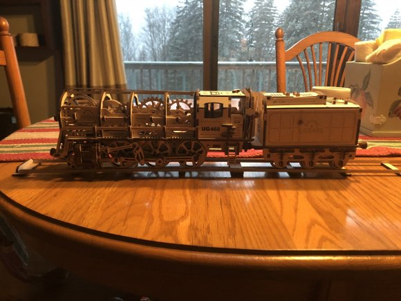 UGears Tram Line Model review 144713