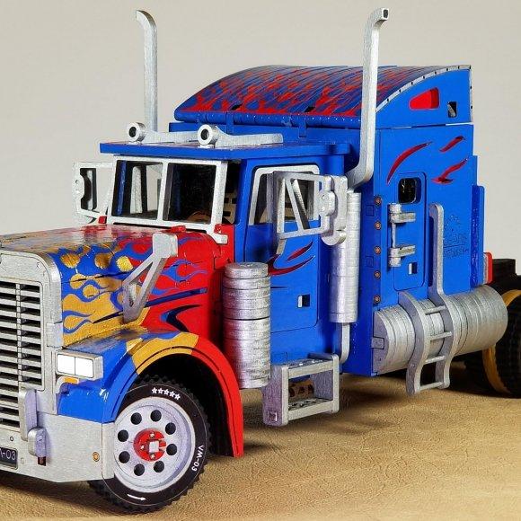 UGears Heavy Boy Truck VM-03 review 151163