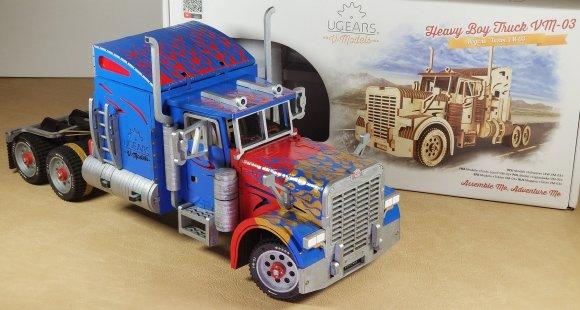 UGears Heavy Boy Truck VM-03 review 151171