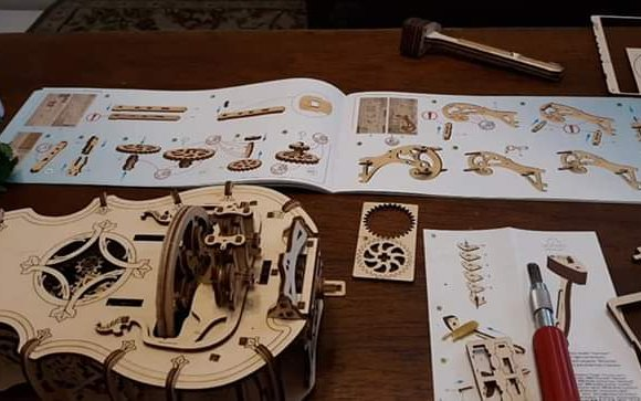 UGears Hurdy-Gurdy review 75198
