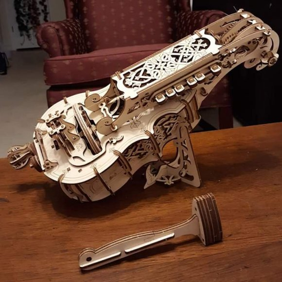UGears Hurdy-Gurdy review 75199
